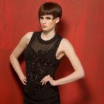 Model Showing Hair in Ted Morgan hair treatment Dubai